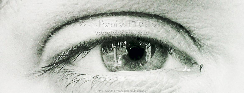 foto artistiche Alberto Fratoni occhio riflesso